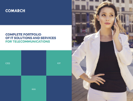 Comarch Telecom - Complete portfolio of solutions