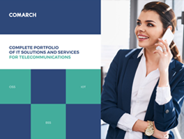 Comarch Portfolio of BSS OSS Solutions for Telecoms