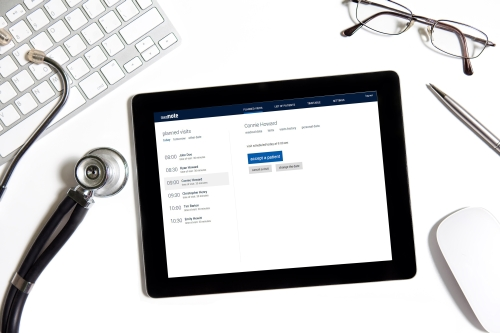 Comarch medNote - portable solution, which provides EHR