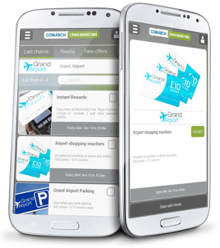 CLM Mobile App for Airports
