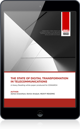 State of Digital Transformation in Telecommunications white paper