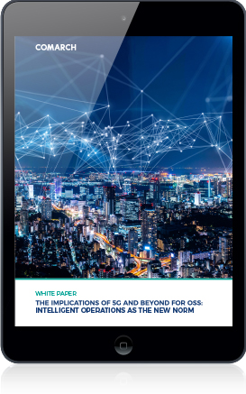 The Implications of 5G and Beyond for OSS: Intelligent Operations As The New Norm cover
