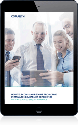How Telecoms Can Become Pro-Active in Managing Customer Experience cover