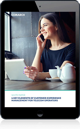 4 Key Elements of Customer Experience Management for Telecom Operators cover