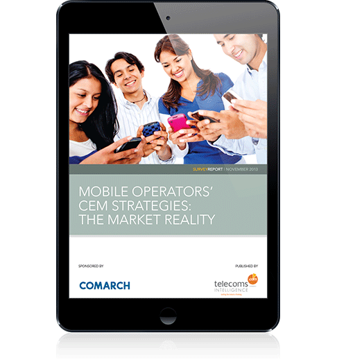 Mobile Operators' CEM Strategies - the Market Reality cover