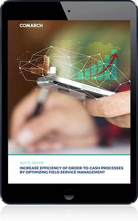 Increase efficiency of Order-to-Cash processes by optimizing field service management cover