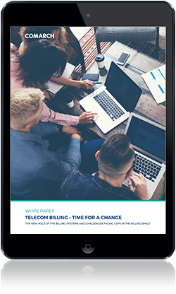 Telecom billing – time for a change cover
