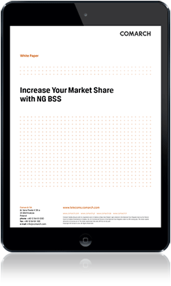 Increase Your Market Share with NG BSS cover