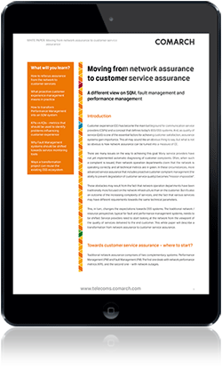 Moving from network assurance to customer service assurance
