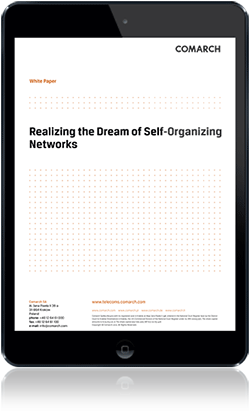 Towards Self-Organizing Networks cover