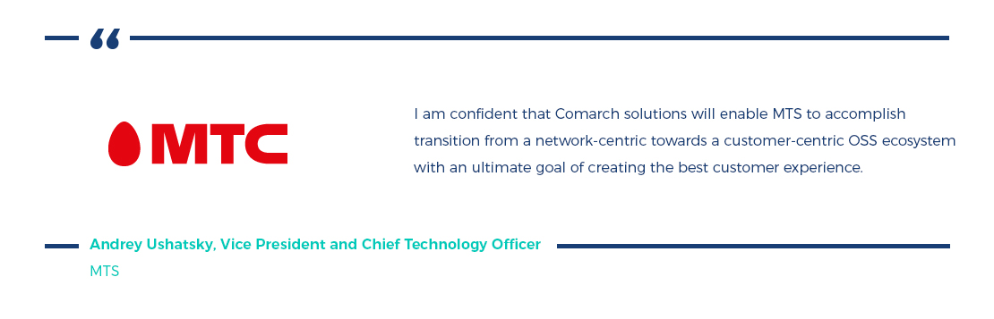MTC, Comarch case study