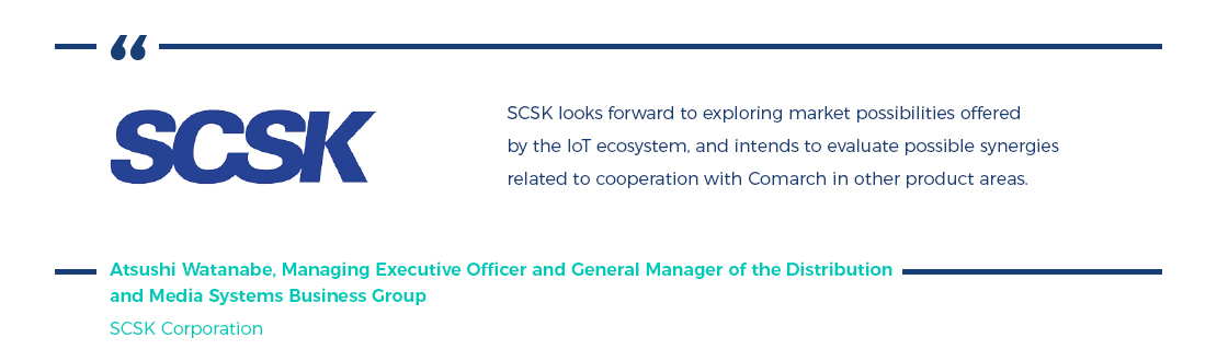SCSK Corporation, IoT press release