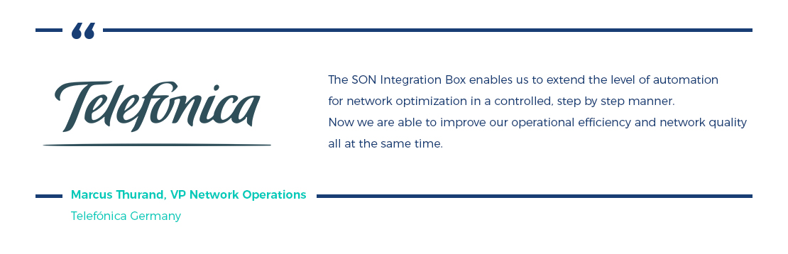 Case study: OSS  SON Integration for a Mobile Operator