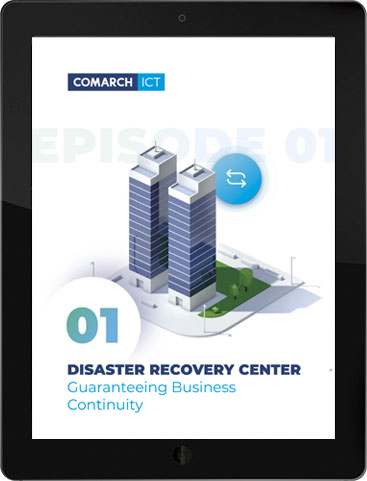 Disaster Recovery Center Guaranteeing Business Continuity