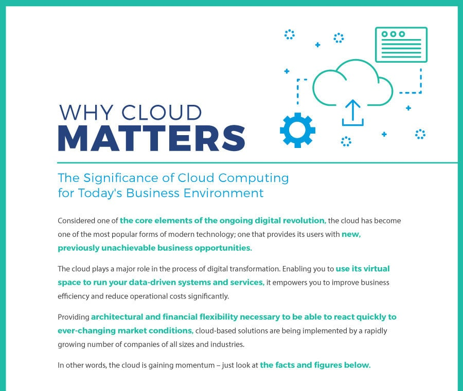why cloud matters
