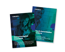 Comarch Insurance leaflets