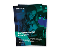 Comarch Digital Insurance leaflet