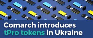 Comarch introduces tPro tokens in Ukraine