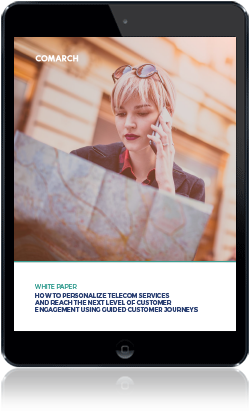 How to Personalize Telecom Services and Reach the Next Level of Customer Engagement Using Guided Customer Juorneys cover