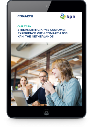 Streamlining KPN's Customer Experience with Comarch BSS