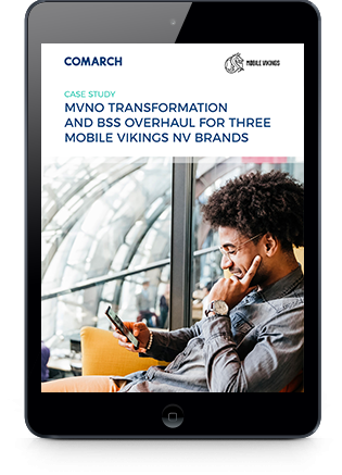 MVNO Transformation and BSS overhaul for Three Mobile Vikings NV Brands