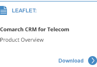 Comarch CRM for Telecoms