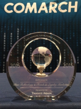 Thanks Again won a Loyalty360 award for Best Use of Technology and Trends in Loyalty Marketing